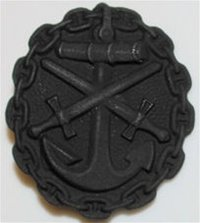 Imperial Navy Wound Badge - 3rd Class