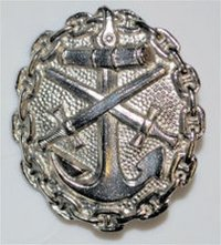 Imperial Navy Wound Badge - 2nd Class