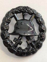 Imperial Army Wound Badge, cut out style - 3rd Class