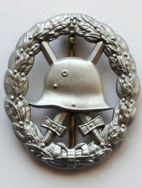 Imperial Army Wound Badge cut out style - 2nd Class