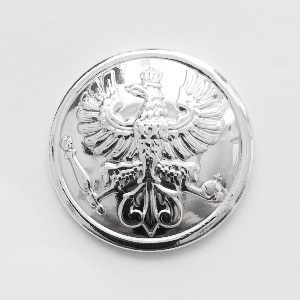 Gefreiter Rank Button-Silver