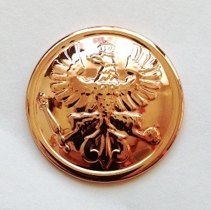 Sergeanten Rank Button-Tombak